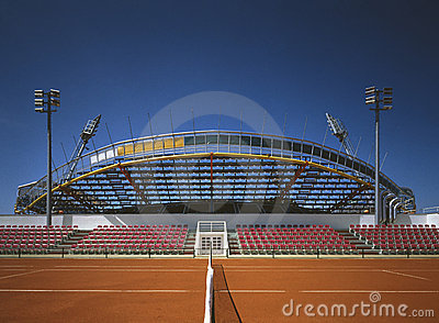 Tenis stadium in Umag