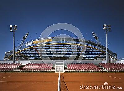 Tenis stadium in Umag