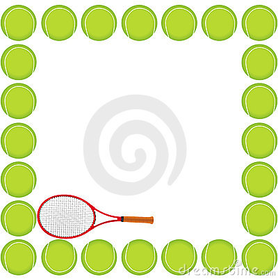 Tennis background card