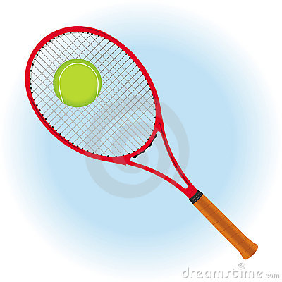 Tennis background card