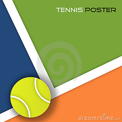 Free Tennis Ball Background Royalty Free Stock Photo - 13540745