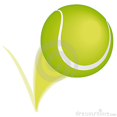 Tennis ball bounce