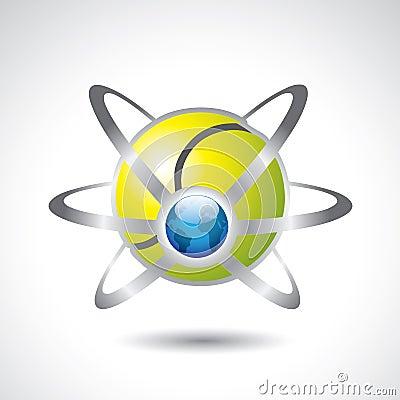 Tennis ball - earth sport