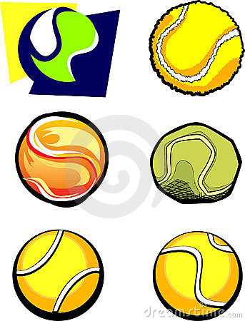 Tennis Ball graphic vector Images