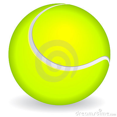 Free Tennis Ball Icon Stock Photography - 16492142
