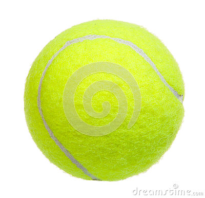 Free Tennis Ball Isolated Stock Photos - 34538933