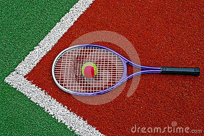 Tennis Ball & Racket-2