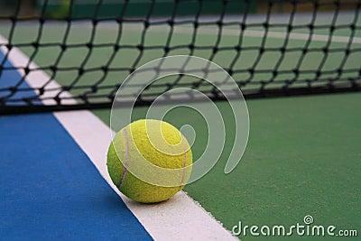 Tennis ball, sport concept