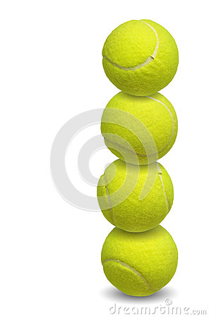 Free Tennis Balls Royalty Free Stock Photos - 40548618