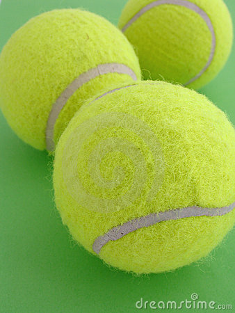 Free Tennis Balls Royalty Free Stock Photos - 757298