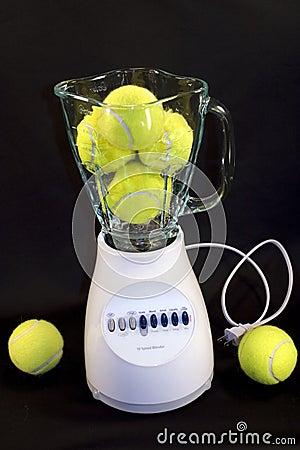 Free Tennis Balls In Blender Royalty Free Stock Photos - 3444348