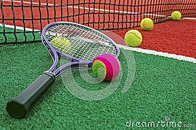 Tennis Balls & Racket-2