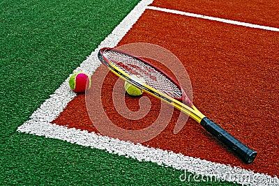 Tennis Balls & Racket-6