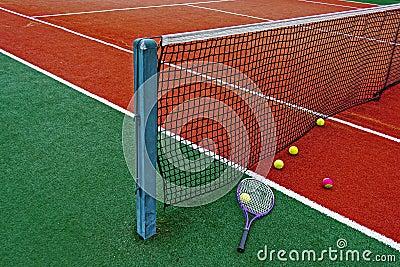 Tennis Balls & Racket-7