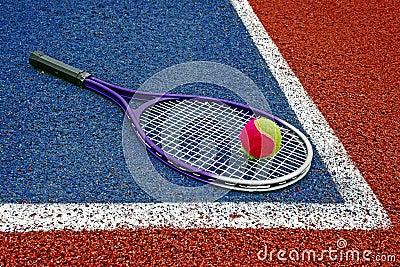 Tennis Balls & Racket-3