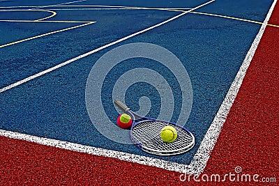 Tennis Balls & Racket-1