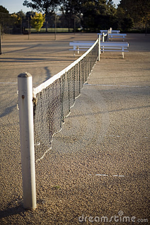 Free Tennis Court Royalty Free Stock Images - 14833669