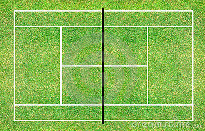 Tennis Court Stock Images Image 21540124