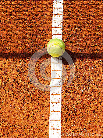 Tennis court with ball (42)