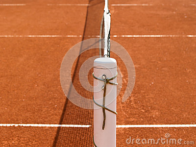 Tennis court line with net (70)