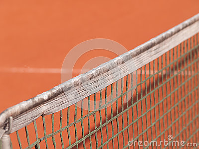 Tennis court with line and net (88)