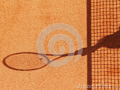 Tennis court net and shadow (23)