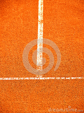 Tennis court with t-line (266)