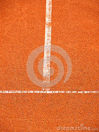 Tennis court with t-line (263)
