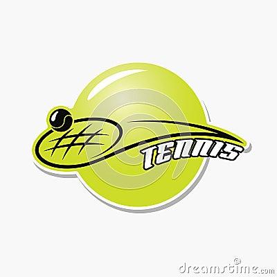 Tennis cup symbol