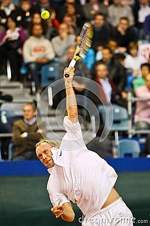 Tennis Davis Cup Austria vs. France Editorial Stock Image