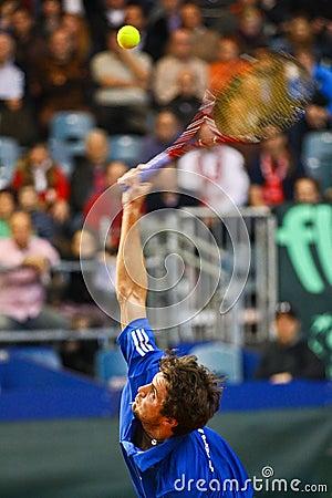 Tennis Davis Cup Austria vs. France Editorial Photography