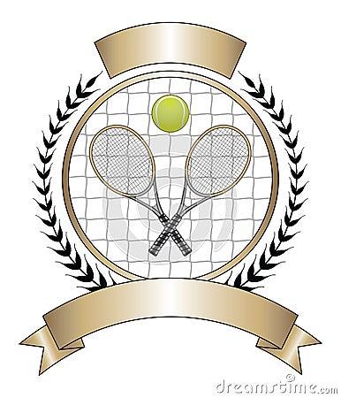 Tennis Design Template Laurel