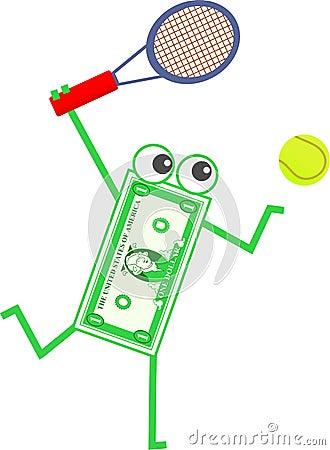 Tennis dollar