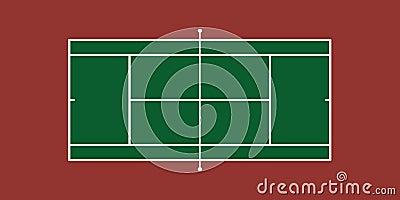 Tennis-Gericht