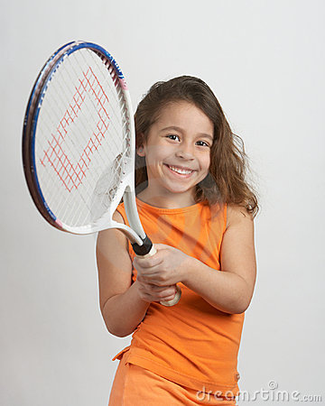 Free Tennis Girl Stock Images - 18570834