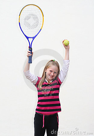 Free Tennis Kid Royalty Free Stock Photos - 4858128