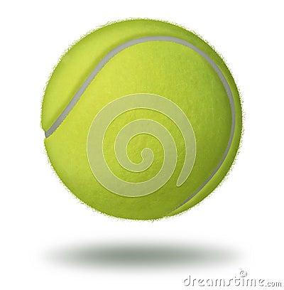 Tennis klumpa ihop sig