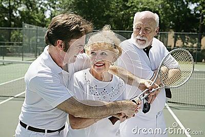 Tennis Lessons - Jealous Husba