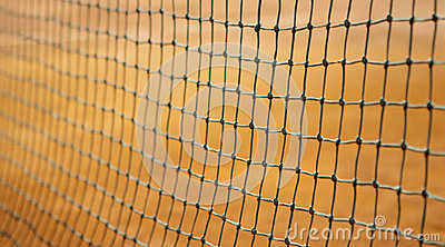 Tennis net background
