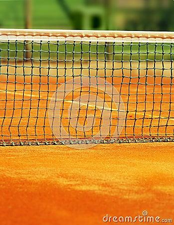 Tennis net background
