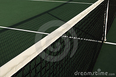 Tennis Net s Shadow