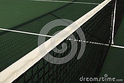 Tennis Net s Shadow