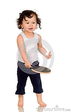 Free Tennis Player. Royalty Free Stock Image - 4617116