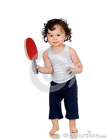 Free Tennis Player. Royalty Free Stock Photos - 4621898
