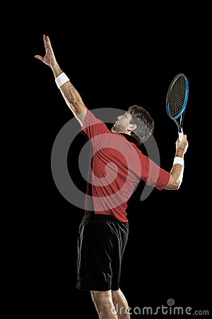 Free Tennis Player. Royalty Free Stock Photography - 80764237