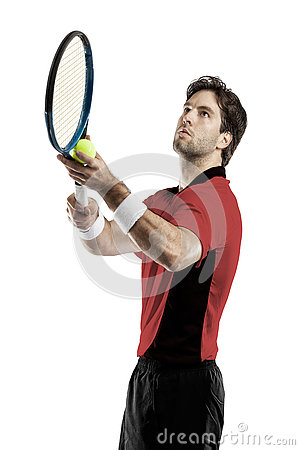 Free Tennis Player. Stock Image - 80766161