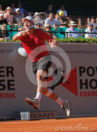 Tennis Player Tomas Berdych Editorial Stock Photo