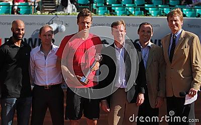 Tennis Player Tomas Berdych Editorial Image