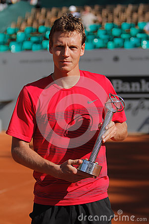 Tennis Player Tomas Berdych Editorial Image