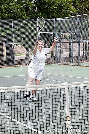 Tennis Player - Winning